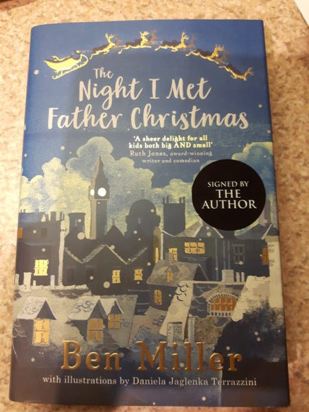 The Night I met Father Christmas Book Cover
