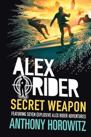 Alex Rider - Secret Weapon Book Cover