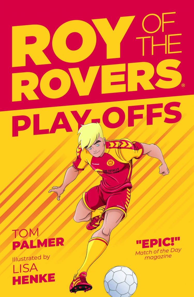 Roy of the Rovers - play-offs Book Cover