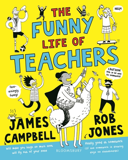 The Funny Life of Teachers Book Cover