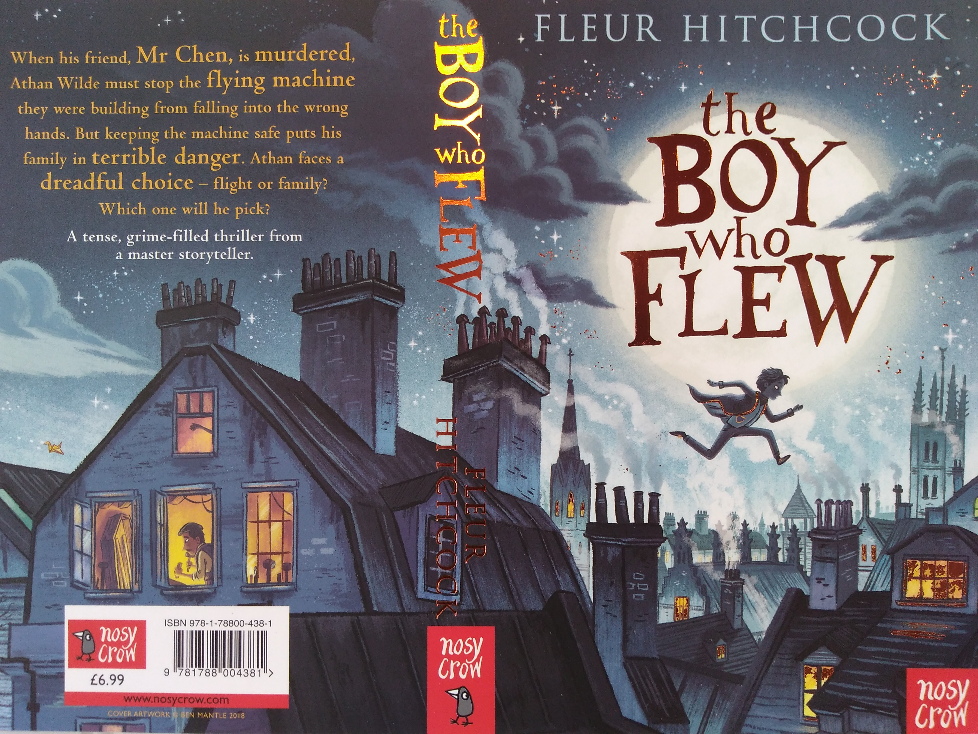 The Boy who Flew Book Cover
