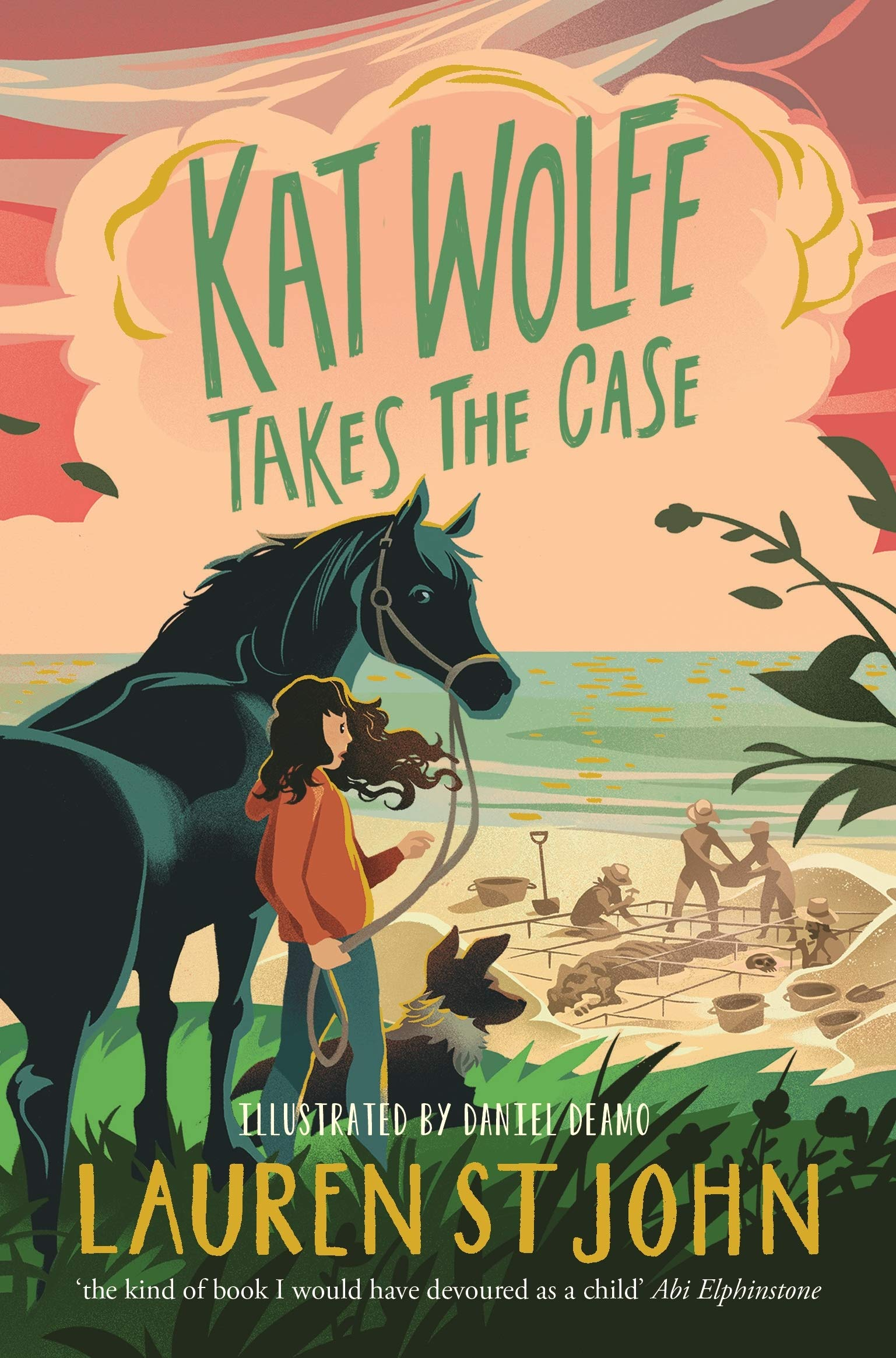 Kat Wolfe Takes the Case Book Cover