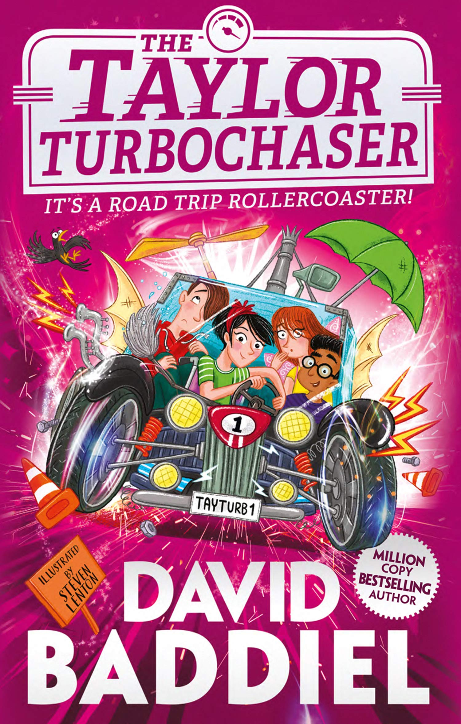 The Taylor Turbochaser Book Cover