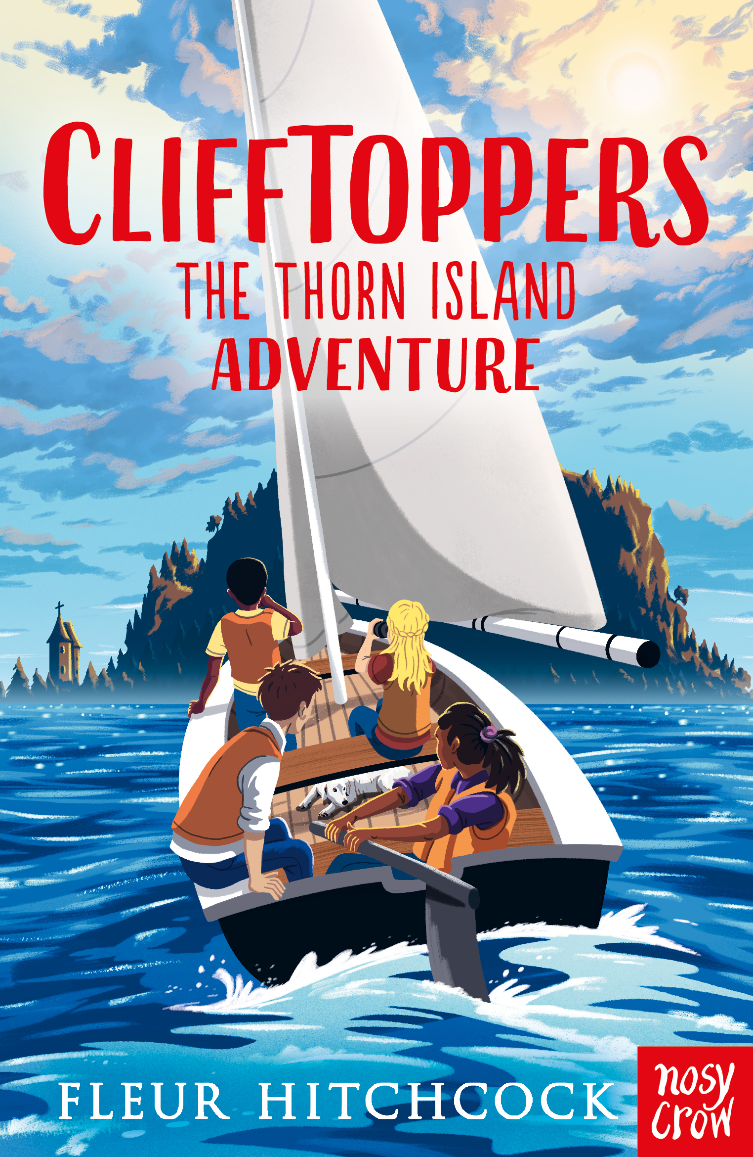 CliffToppers - The Thorn Island Adventure Book Cover