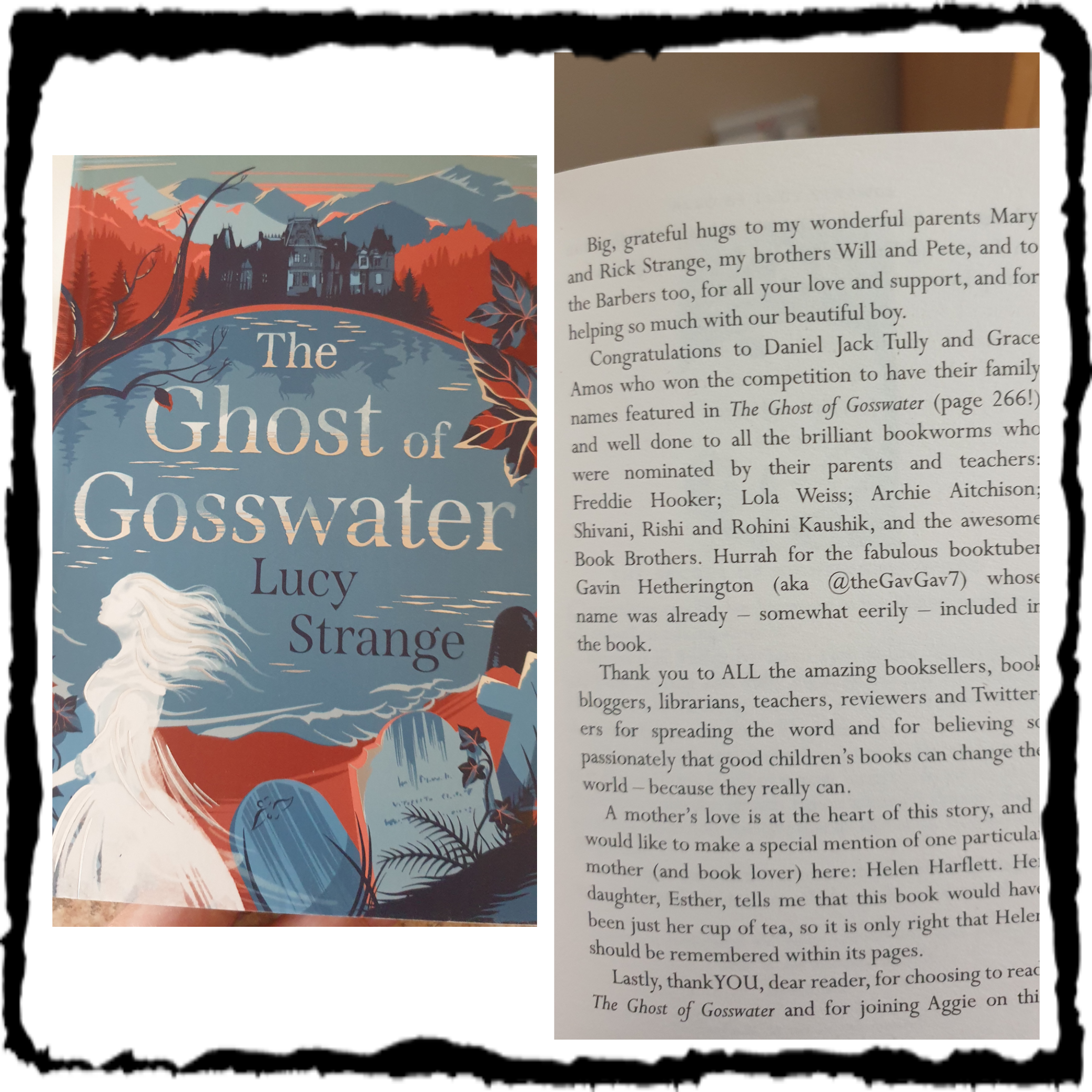 The Ghost of Gosswater Book Cover