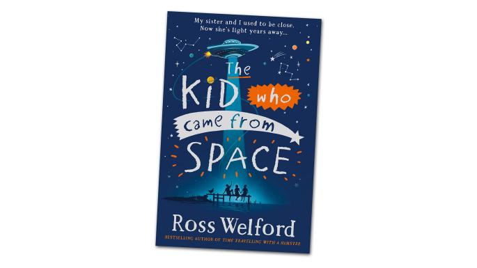 The Kid Who Came From Space Book Cover